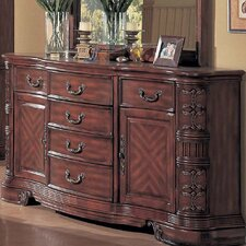 <strong>Wildon Home ®</strong> Hannah 6 Drawer Combo Dresser