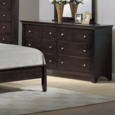 <strong>Wildon Home ®</strong> Montgomery 6 Drawer Dresser