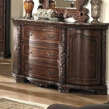 <strong>Wildon Home ®</strong> Cannes 3 Drawer Combo Dresser