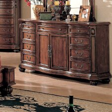 <strong>Wildon Home ®</strong> Wrigley 9 Drawer Combo Dresser