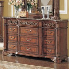 <strong>Wildon Home ®</strong> Kamella 9 Drawer Dresser