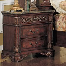 Kamella 3 Drawer Nightstand