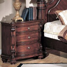 Corina 3 Drawer Nightstand