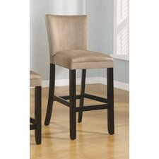 "<strong>Wildon Home ®</strong> Bullhead City 29"" Microfiber Barstool in Taupe"