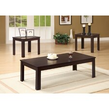 <strong>Wildon Home ®</strong> Winslow 3 Piece Coffee Table Set