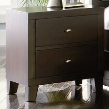 <strong>Wildon Home ®</strong> Kingman Deep 2 Drawer Nightstand