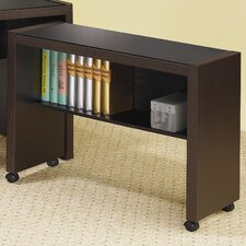 <strong>Wildon Home ®</strong> Bicknell Computer Cart in Dark Cappuccino