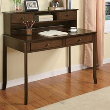 "<strong>Wildon Home ®</strong> 42"" Writing Desk with Hutch"