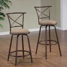 <strong>Wildon Home ®</strong> Klinge Barstool in Brown