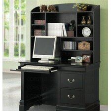 <strong>Wildon Home ®</strong> Fountain Hills Computer Desk with Hutch