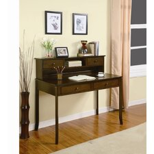"42"" Writing Desk with Hutch"