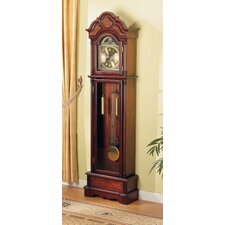 Grandfather Clock in Cherry