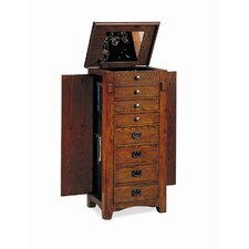"West Richmond 42"" Jewelry Armoire in Oak"