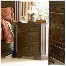Moscow 3 Drawer Nightstand