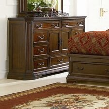 <strong>Wildon Home ®</strong> Moscow 9 Drawer Combo Dresser
