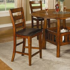 "Kennebunkport 24"" Barstool in Dark Oak"