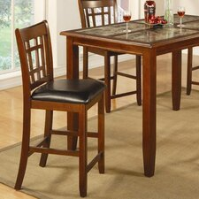 "Cherryfield 24"" Barstool in Warm Cherry"