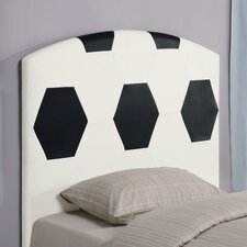 <strong>Wildon Home ®</strong> Bowdoin Soccerball Twin Upholstered Headboard