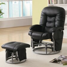 <strong>Wildon Home ®</strong> Vanceboro Recliner and Ottoman