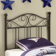 <strong>Wildon Home ®</strong> Bowdoin Transitional Twin Metal Headboard