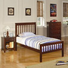<strong>Wildon Home ®</strong> Perry Twin Slat  Bed