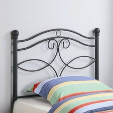 <strong>Wildon Home ®</strong> Bowdoin Twin Metal Headboard