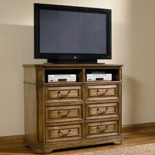 <strong>Wildon Home ®</strong> Madison 6 Drawer Media Chest