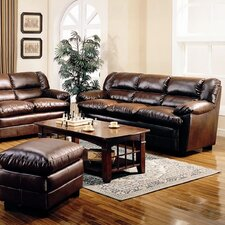 <strong>Wildon Home ®</strong> Palermo Sofa in Rich Brown