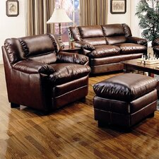 <strong>Wildon Home ®</strong> Palermo Chair and Ottoman