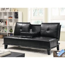 Milford Vinyl Sleeper Sofa