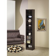 "Rogers 13"" Bookcase in Cappuccino"