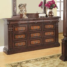 <strong>Wildon Home ®</strong> Merkel 12 Drawer Dresser
