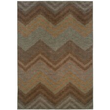 Milano Brown/Blue Rug