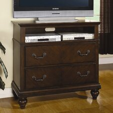 <strong>Wildon Home ®</strong> Mclean 2 Drawer Media Chest