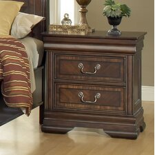 Hennessy 2 Drawer Nightstand