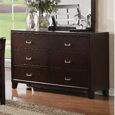 <strong>Wildon Home ®</strong> Preston 6 Drawer Dresser
