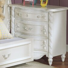 Pearl 3 Drawer Nightstand