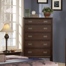 <strong>Wildon Home ®</strong> Bellwood 5 Drawer Chest