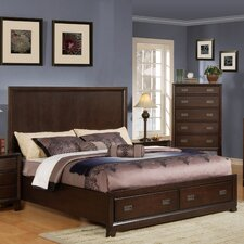 <strong>Wildon Home ®</strong> Bellwood Storage Panel Bed