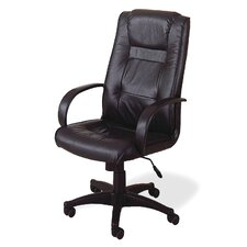 Stanfield High-Back Leather Office Chair