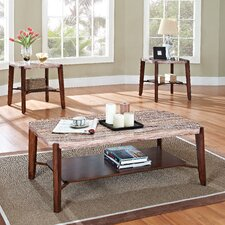 Nadav 3 Piece Coffee Table Set