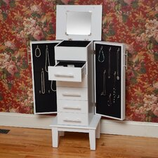 Bay Shore Cape Cod Jewelry Armoire with Mirror