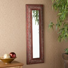 "Decorative 40"" H x 13.25"" W Mirror"