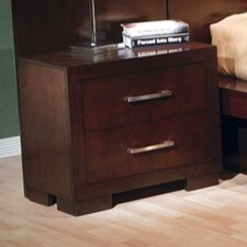 <strong>Wildon Home ®</strong> Jessica Light 2 Drawer Nightstand