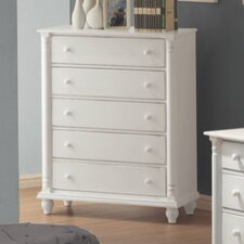 <strong>Wildon Home ®</strong> Kayla 5 Drawer Chest