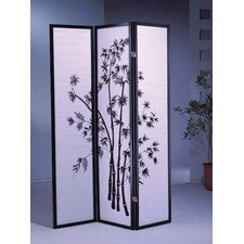 "<strong>Wildon Home ®</strong> 70"" x 51"" Bamboo Shoji 3 Panel Room Divider"