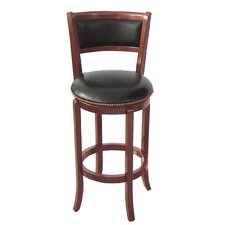 "Vinyl 30"" Swivel Bar Stool"
