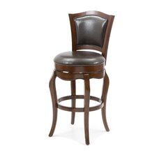 "Lincoln 29"" Bar Chair in Cherry"
