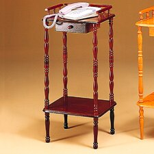 Colfax Multi-Tiered Telephone Table