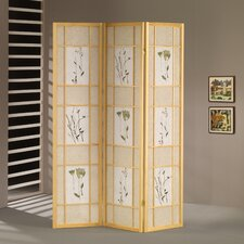 "<strong>Wildon Home ®</strong> 70"" x 54"" Shoji 3 Panel Room Divider"